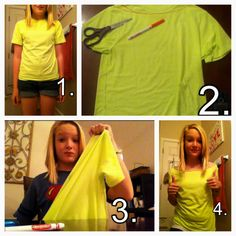 how to make a shirt tighter without sewing machine