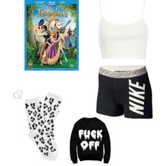 A fashion look from December 2014 featuring River Island tops, NIKE activewear shorts and Aéropostale socks. Browse and shop related looks.