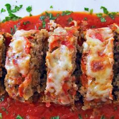 Italian Meatloaf Abigail would love this!