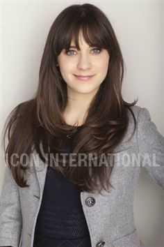 Bangs...I had these before they were cool...pretty sure I didn't look as hot as her with them though :(