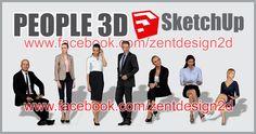 PEOPLE 3D SketchUp Part. 3