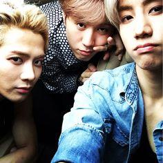 Mark Tuan's IG with Jackson and Yugyeom