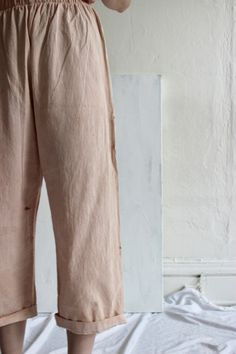 Hammock Pant in Dusty Rose from GolondrinaThe Hammock Pant by Golondrina is a comfortable everyday ...