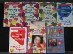 mattie stepanek books - i have read reflections of a peacemaker & parts of the rest...they make my heart both sad because he is gone & also beam because he was so open & pure of love.these writtings of his are both inspirational & makes me realize what is really important in this life...