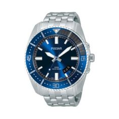 Pulsar Watch - Men's Stainless Steel