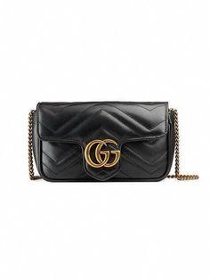 Gucci GG Marmont Matelassé Leather Super Mini Bag - Farfetch  Guccihandbags 937c7924cdeb5