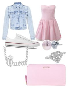 """""""Pink """" by hervly69 ❤ liked on Polyvore"""
