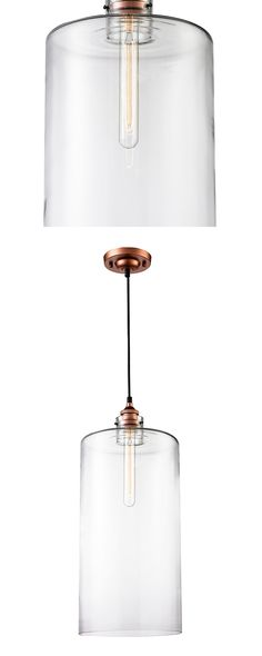Liven up your cozy kitchen or dining room with this industrial-inspired pendant Light. Sleekly designed, this Andrik Light Pendant features a striking, oblong glass shade and handsome brass-finished st...  Find the Andrik Pendant Light, as seen in the Cemented Industrial Style Collection at http://dotandbo.com/collections/cemented-industrial-style?utm_source=pinterest&utm_medium=organic&db_sku=114787