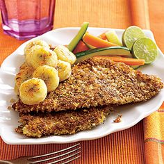 Jamaican Red Snapper with Pan-Fried Banana #recipe