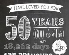 Digital Printables for Milestone Anniversaries by ScrapsofShirlee