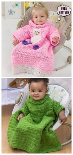 Most recent Free Crochet baby patterns Strategies Crochet Snuggle Up Afghan Blankets With Sleeves Free Patterns (Adults) Crochet Baby Poncho, Crochet Baby Blanket Beginner, Crochet Baby Clothes, Crochet Afghans, Crochet Blanket Patterns, Baby Patterns, Baby Knitting, Crochet Baby Blankets, Free Baby Crochet Patterns