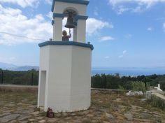 Om de klok te kunnen luiden van Agios Dimitrios ...