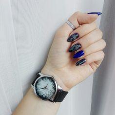 MY WORK September 2017. #pinterestnails #nails #darknails #holonails #longnails