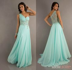 2014 New Long Chiffon Bridesmaid Evening Formal Party Ball Gown Prom Dress