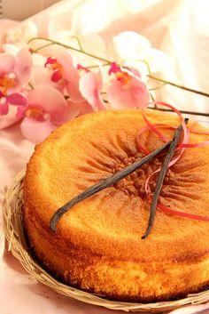One-bowl Vanilla Cake