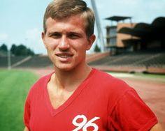 Jupp Heynckes of Hannover 96 in 1968.
