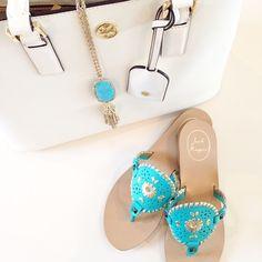 Turquoise, white + gold accessories | #liketkit www.liketk.it/2pTC @liketkit