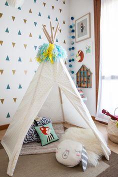 {Design} Baby G's Adventures Playroom! Baby G, G Adventures, Woodland Nursery, Baby Design, Playroom, Kids Room, Toddler Bed, Modern, Furniture