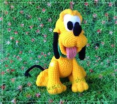 Pluto Dog 8inches PDF amigurumi crochet pattern