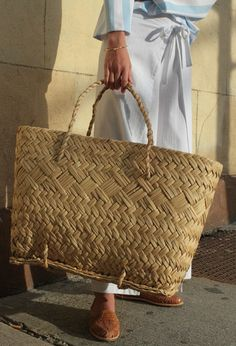 Straw Basket Tote at Sincerely Tommy