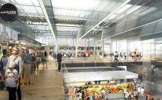 Ameller, Dubois et Associés - Architecture - Pau - Immeuble de bureaux et marché couvert
