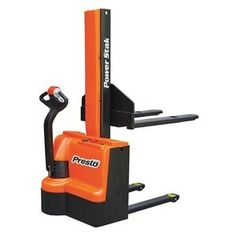 Stacker, Powered, Fork Over by Unknown. $7553.09. Stacker, Powered, Fork Over, Load Capacity 2200 lb., Max. Lifting Height 62 In., Lifting Height Min. 3-1/2 In., Lifting Height Forks Up 62 In., Lifting Height Forks Down 3-1/3 In., Overall Length 66 In., Overall Width 32 In., Overall Height 78 In., Base Legs Inside Dia. 15 In., Base Legs Outside Dia. 27 In., Load Center 24 In., Fork Length 42 In., Fork Width 27 In., Wheels 5 x 2 In. Fork Over BaseFor narrow aisles and con...