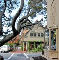 Ocean Avenue, Carmel-by-the-Sea, Monterey, California