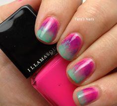 Tropical Gradient Nails