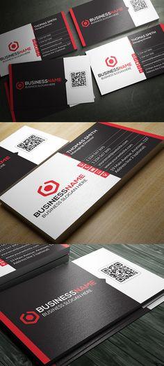 Creative Business Card Template #businesscards #psdtemplates #printready