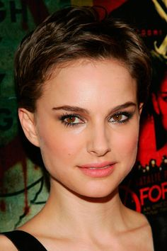 hair styles for ahort hair s 237 y no los pixie cuts m 225 s famosos natalie portman 4484