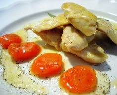 Receta de carne: Pechugas de pollo escabechadas