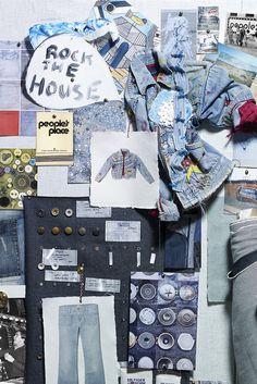 #Hilfiger #Denim. #BlueJeans Spring · Summer #Colortrend 2015 #KatiaYarns