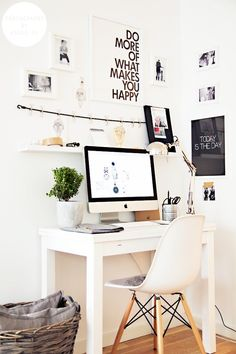 """Office """"DO MORE OF WHAT MAKES YOU HAPPY""""."""