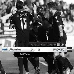 #ATRPAOK 0-2 #SuperLeague #PamePAOKARA