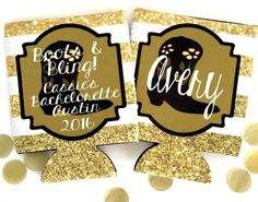 Personalized Bachelorette Party Favors, Baby Shower Koozies, Sorority and Wedding koozies.Bachelorette and Bachelor Party Koozies, Bachelorette Bachelor and Wedding Party Favors. Bling Party, Glitter Party, Gold Glitter, Wedding Koozies, Wedding Party Favors, Wedding Ideas, Bridesmaid Favors, Bachelorette Party Favors, Birthday Favors