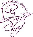 diseño de logotipo Maxi Segovia Chef Cuisinier villa la angostura