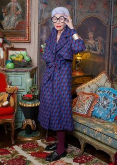I want to be Iris Apfel when I grow up
