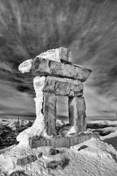 Whistler Man of Stone- 50% of the sale of this print will benefit the Leukemia & Lymphoma Society