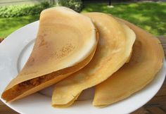 My Asian Kitchen: Apam Balik Thin Crepe Version ( Peanut Pancake)