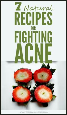 7 Natural Recipes That Fight Acne | PMD Personal Microderm
