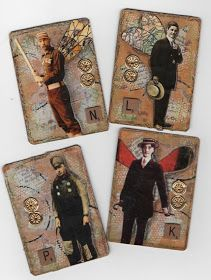 The Artist Trading Card Club.... 'Swap 'til You Drop': Masculine showcase