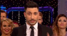 Strictly Come Dancing Giovanni Pernice blows kiss to partner Laura Whitmore after last minute injury left her unable to perform Strictly Come Dancing 2016, Laura Whitmore, Sexy Men, Men's Fashion, Kiss, Dance, Moda Masculina, Dancing, Mens Fashion