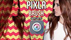 PIXLR BRUSH - Sobreposição na foto / wavelengths #1 #Tutorial #fotos #editordefoto #pixlr #pixlreditor #pixlrphotoeditor  #selfie