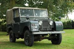 """1950 Land Rover Series 1 80"""" Eighty Inch - """"Barn Find"""" Restoration Project in…"""
