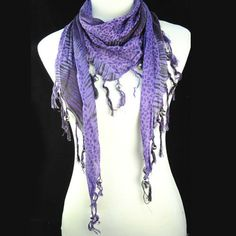 infinity purple stunning animal print hooded pashmina scarf women gift NL-1491D #Welldone #Scarf