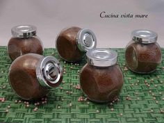 Zucchero al cioccolato | Cucina vista mare
