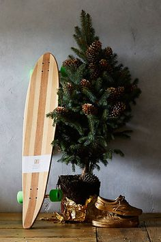 Awesome bamboo longboard for your guy!