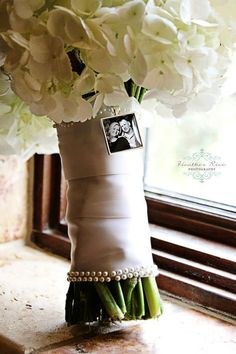 Bridal Bouquet Charm Custom Photo Wedding Keepsake by KCowie, $16.95