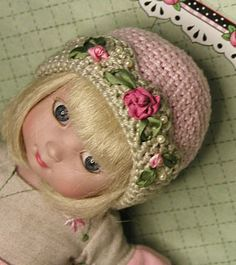 Great hat pattern for Patsy doll