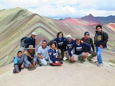 The 'Rainbow' mountain, 'Stripy' mountain, 'Colored' mountain…call it what you will, this natural geologic formation is fast attracting large numbers of visitors and is becoming as popular as more well-known attractions of Peru; and with good reason! Mountain Hiking, Trekking, Peru, Adventure Travel, Monster Trucks, Rainbow, Ausangate Trek, Explore, Numbers